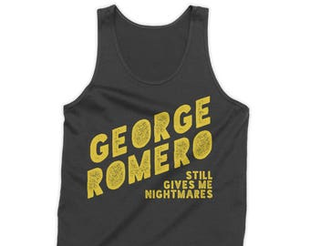 Romero Still Gives Me Nightmares Tank Top