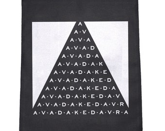 Avada Kedavra Cloth Large Back Patch