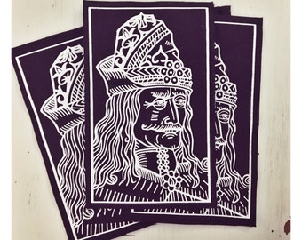 Vlad the Impaler Cloth Patch