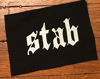 Stab Cloth Patch