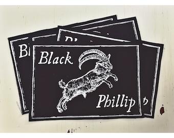 Black Phillip Cloth Patch