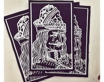 Vlad the Impaler Cloth Patch