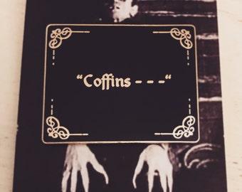 Nosferatu Coffins Enamel Pin