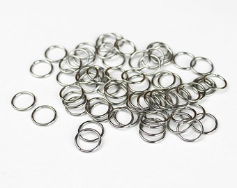 Stainless Steel Jump Rings 10mm - 50 Pieces