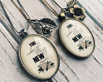 Necklace -YOU mad all things new necklace