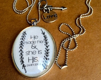 Necklace-He made her and she is his