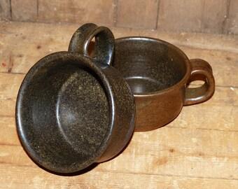 Vera Stevens Handthrown Coffee Mugs Set of Two -  1021