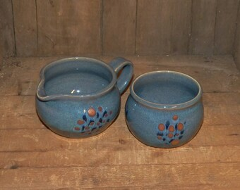 Sharon Hand Thrown Pottery Cream and Sugar Set - 1592 40852cc7a2d1