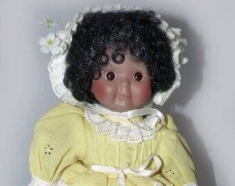 Victoria Ashley Originals House of Global Art Googly Doll- 1323