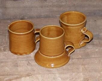 Boggs Handthrown Coffee Mugs Set of Three -  1810