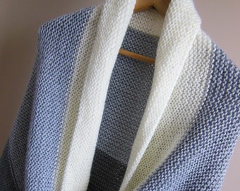 KNITTING PATTERN, Back Porch Shawl, knitted shawl, knit shawl, knitted shawl pattern, shawl pattern, knit wrap, knit shawl pattern, shawl