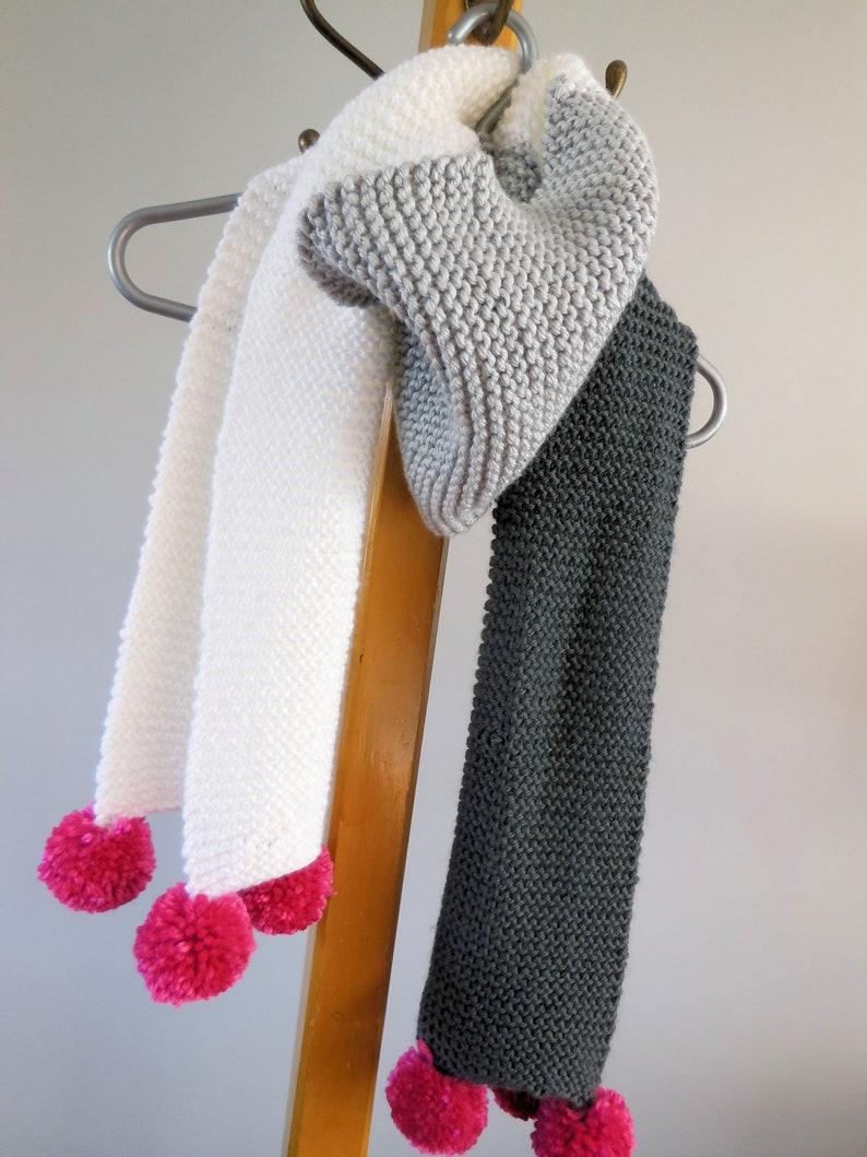 KNITTING PATTERN Sherbrooke Scarf scarf pattern image 0