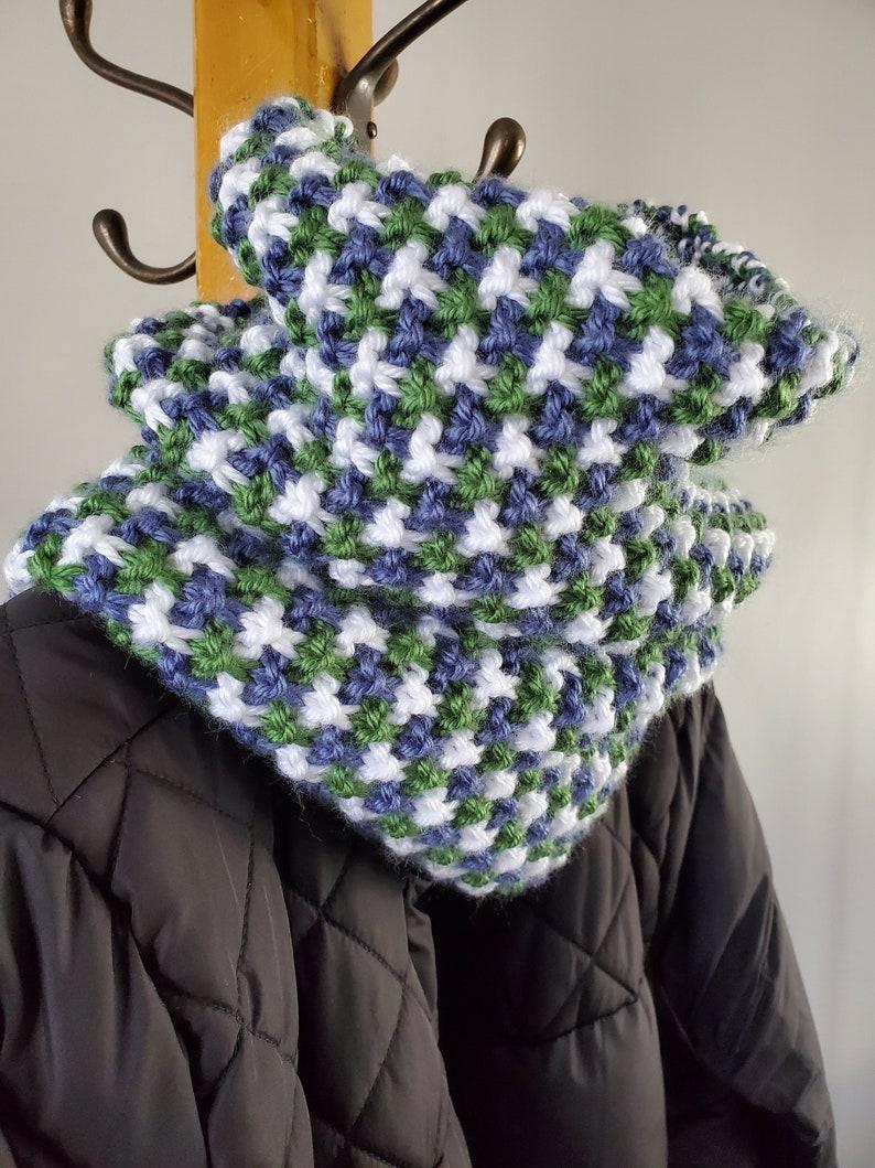 KNITTING PATTERN Bonnie Cowl cowl knit cowl image 0