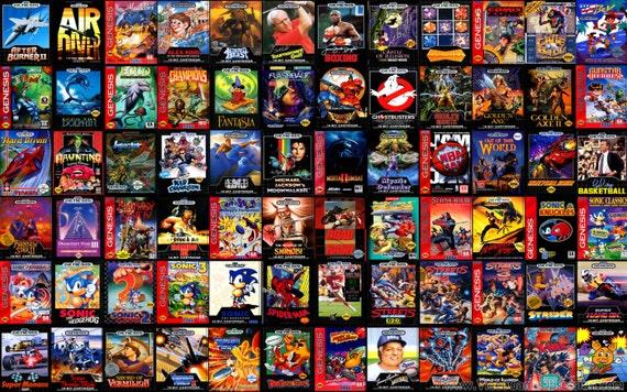 complete genesis game list