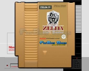 """SPECIAL ORDER! """"The Legend Of Zelda: Link's Shadow"""" Nintendo NES Hack, All New Adventure!"""