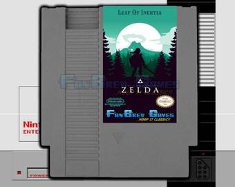 """SPECIAL ORDER! """"The Legend Of Zelda: Leaf Of Inertia"""" Nintendo NES Zelda 2 Hack Awesome!"""