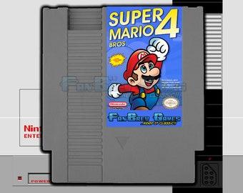 "IN STOCK! ""Super Mario Bros. 4"" Fantasy Hack Nintendo NES New 8-bit Adventure!"