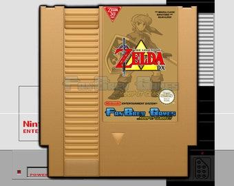 "SPECIAL ORDER! ""The Legend Of Zelda Deluxe"" Homebrew Hack Nintendo NES Awesome!"