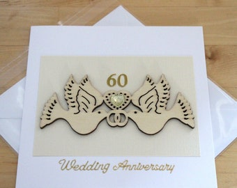 Handmade card all occasions wedding friendship anniversary pleasure to offer mourning love thanks