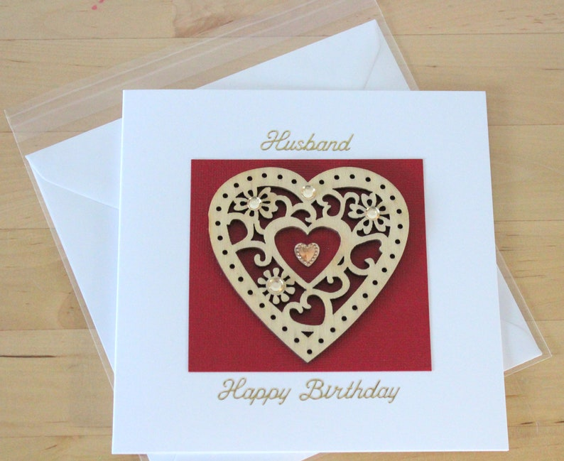 Husband Birthday Card Gift Luxury Unique Cards Gifts For Wood Valentine
