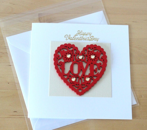 Wooden Valentines Card Gift Cute Valentine S Card Gift Etsy