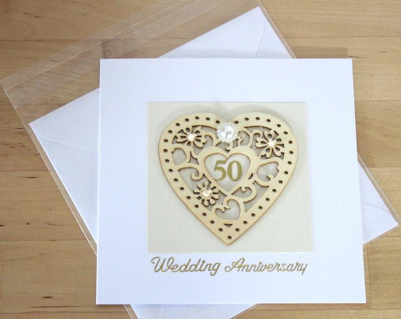 50 Gold Hochzeit Jahrestag Karte Geschenk Karte Luxus Einzigartige 50 Goldene Hochzeit Geschenk Für Mann Frau Holz 50 Jubiläum Fyne Karten