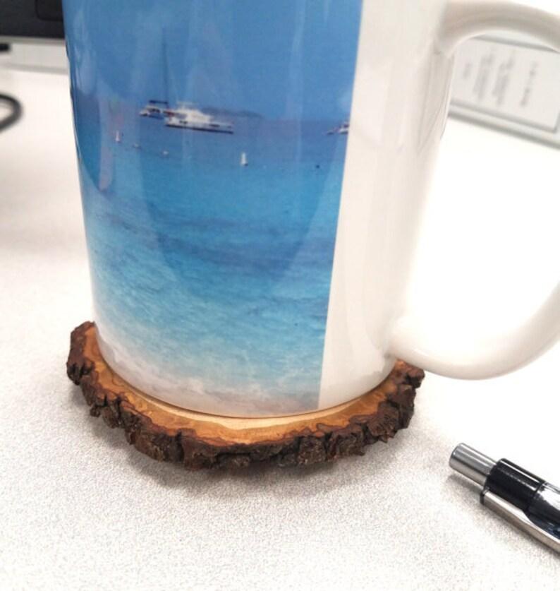 Rustic Pig Dual Purpose Whiteboard Eraser  Office Coaster American Made American Reclaimed Wood Slice