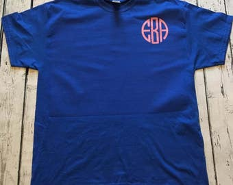 Custom Monogram T-Shirt