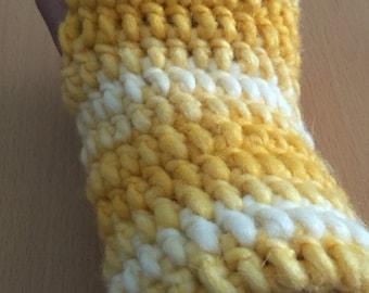Yello Ombre Fingerless gloves