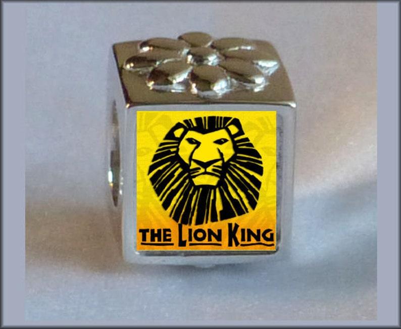 fcf2c5c0c LION KING BEAD Photo Bead Charm Pandora Shiny Sterling Silver | Etsy