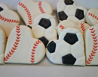 Sports Themed Hearts