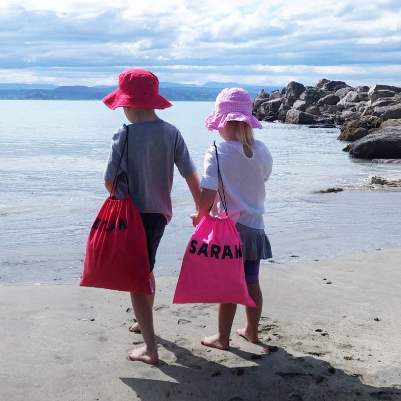 3e85ac618f NZ-Made Personalised Swim Bags for Cool Kids Ideal as a   Etsy