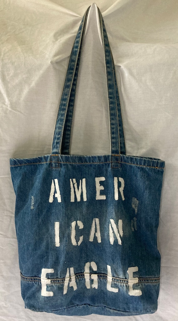 American Eagle Denim Tote bag PREOWNED    American