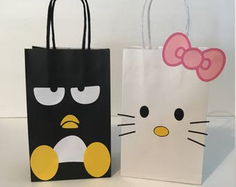 Hello Kitty and Badtz Maru Birthday Party Favor Bags 84e283f123f6d