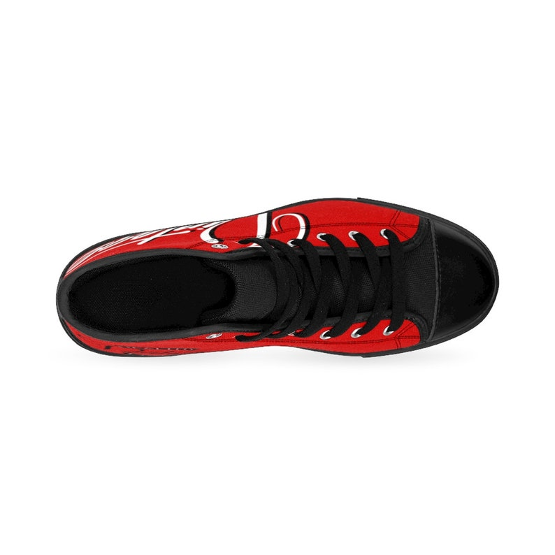 Vintage Healthy Living Shoes for Men Gift for Him Exclusive Red VHL Classics Men/'s Vintage High-top Sneakers