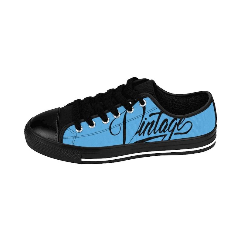 Sneakers vintage da donna esclusivi classici VHL blu scarpe ASJ5HVYI