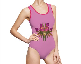 Viral (Princess) Women's Classic One-Piece Swimsuit