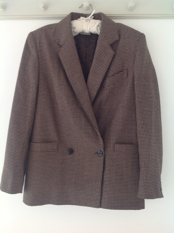 Laura Ashley, vintage jacket, 80's jacket, dogtoot