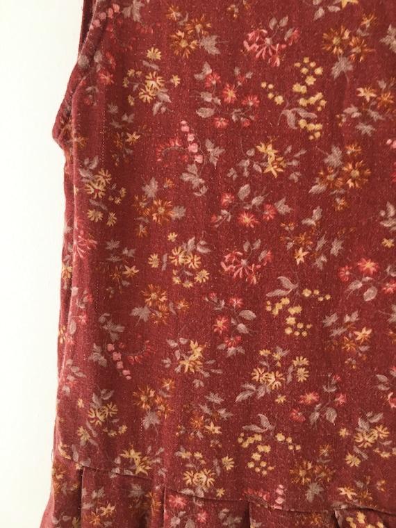 Vintage dress, Laura Ashley dress, 80's dress, pi… - image 10