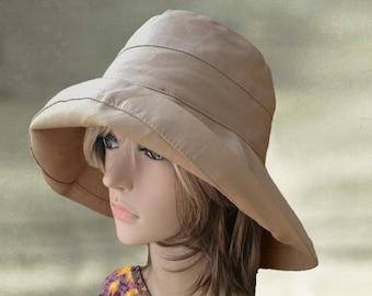Suns hats wide brim, Womens hats cotton,  Kentucky Derby hats, Cotton hats summer, Trendy summer hats, Large brim sun hat, Summer beach hat