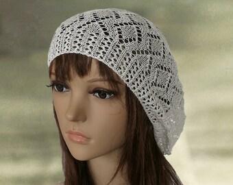 38da06edf88 Bohemian beret hat