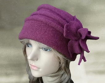 Women's wool hats, Felted hat for women, Ladies wool hats, Felt hats for lady, Womens winter hats, Wool felt hats, Womens hat trendy,