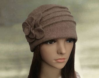 Womens felted hats Felt hats for lady Womens winter hats  c43e32fd791