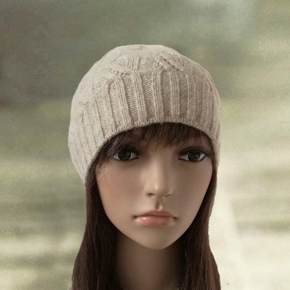 1402871f088 Knit women s beanie Knitted wool hats Womens knit caps