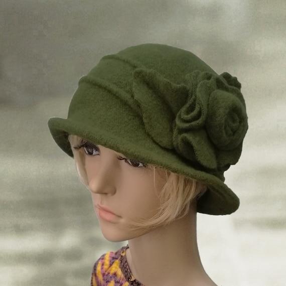 Ladies felted hats Womens felt hat Winter womens hat Felted  ef0760a4aab
