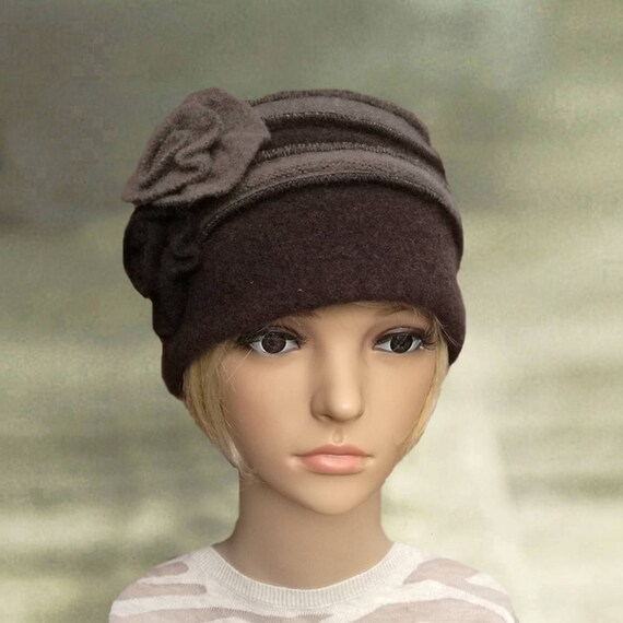 Womens felted hat Womens winter hats Ladies wool hat Winter  dd451ff8fc0
