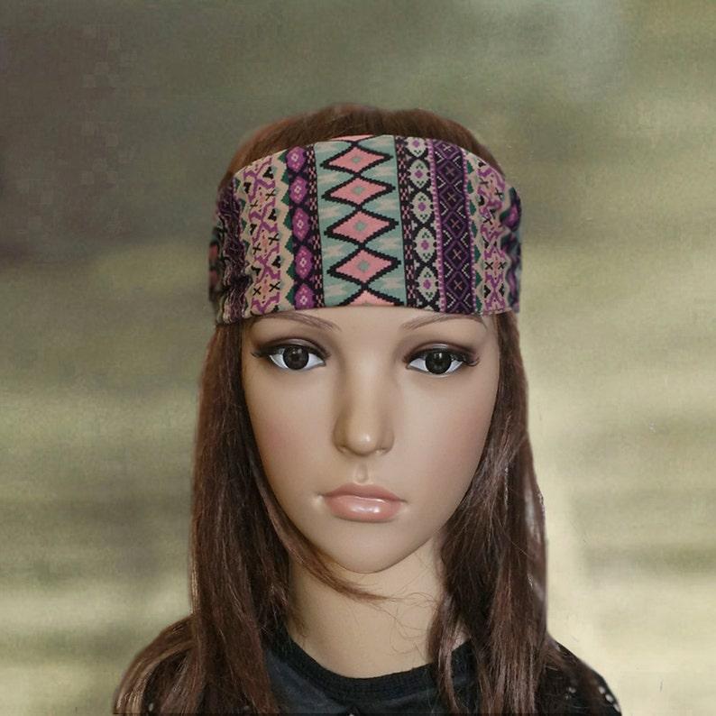 Boho headbands, Yoga headbands, Womens bandana, Work out headband, Adults  headbands, Wide headbands, Sport headbands, Running head wear