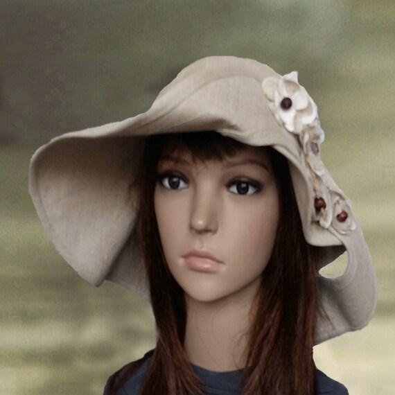 f8b9a432 Summer linen hats Suns hats women Womens sun hats Organic | Etsy