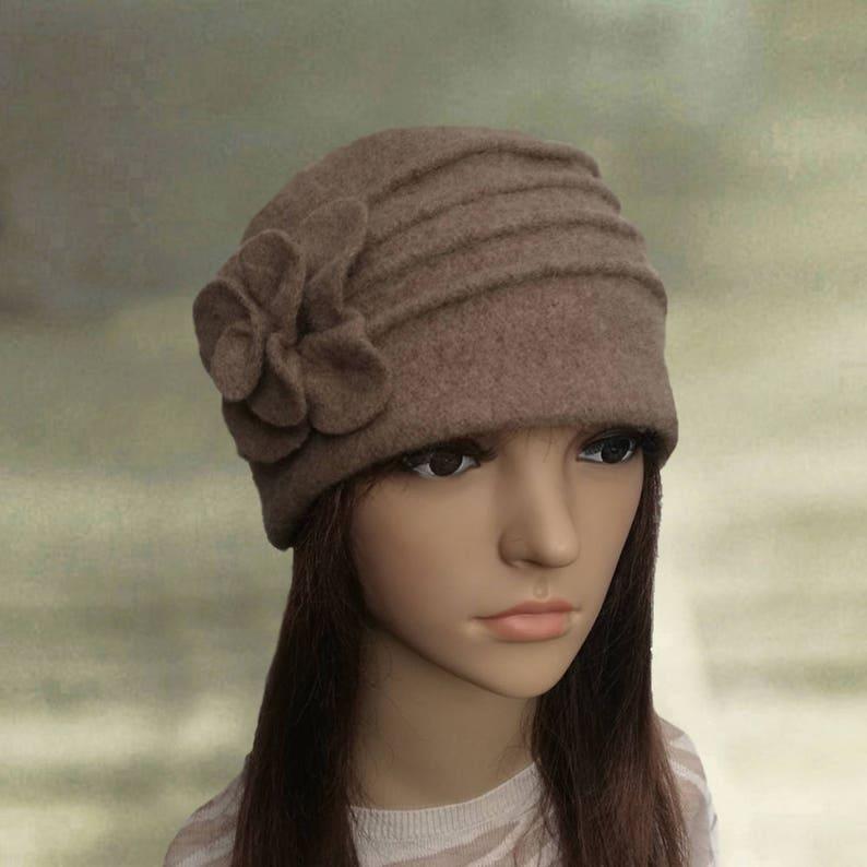 93c51382217 Winter felted hats Womens winter hats Felted wool beanie