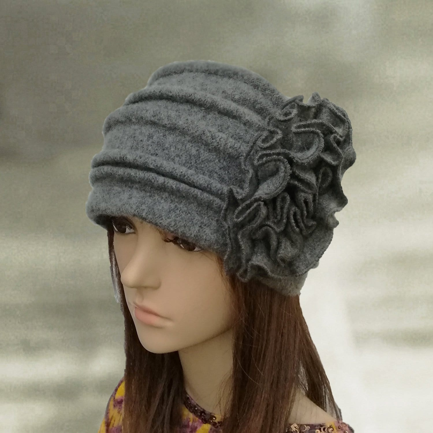 Felted wool beanie Felt wool hats Womens winter hats  40899ae1057